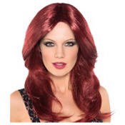 Burgundy Wine Seductress Wig