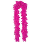 Hot Pink Feather Boa 72in