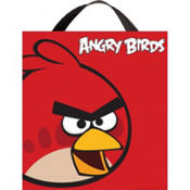 Fabric Angry Birds Treat Bag 15in