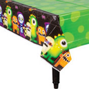 Boo Crew Plastic Table Cover 54in x 102in