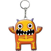 Boo Crew Monster Keychain 2in