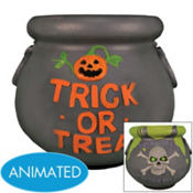 Animated Haunted Candy Dish 9in