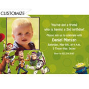 Woody and Friends Custom Photo Invitation