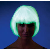 Electrifying Glow In The Dark Bob Wig
