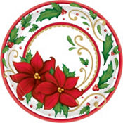 Winter Botanical Lunch Plates 60ct