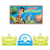 Toy Story Happy Birthday Candles 4ct