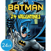 Batman Valentines Day Cards 24ct