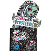 Frightfully Invited Monster High Invitations 8ct