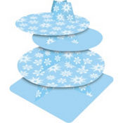 Snowflake Tiered Treat Stand