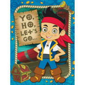 Jake and the Never Land Pirates Invitations 8ct