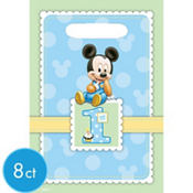 Mickey Mouse 1st Birthday Favor Bags 8ct