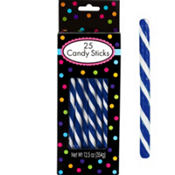 Royal Blue Candy Sticks 12.5oz