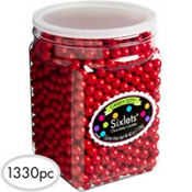 Red Chocolate Sixlets 1330pc