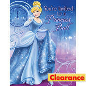 Cinderella Invitations 8ct