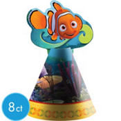 Finding Nemo Cone Hats 8ct