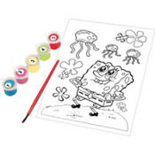 SpongeBob Paint by Numbers 7pc