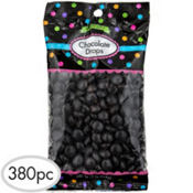 Black Chocolate Drops 380pc