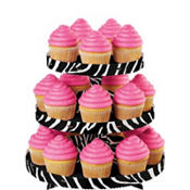 Zebra Treat Stand Holds 24