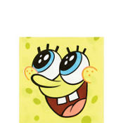 SpongeBob Beverage Napkins 16ct