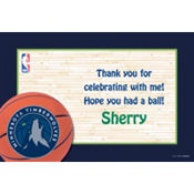 Minnesota Timberwolves Custom Thank You Note
