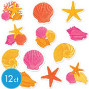 Warm Sea Cutouts 12ct