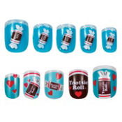 Pop Grrl Tootsie Roll Nails