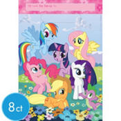 My Little Pony Favor Bags 8ct