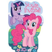 My Little Pony Invitations 8ct