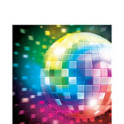 Disco Fever Lunch Napkins 16ct