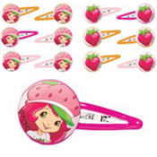 Strawberry Shortcake Barrettes 24ct