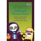 Boo Crew Custom Invitation