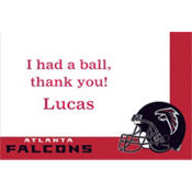 Atlanta Falcons Custom Thank You Note