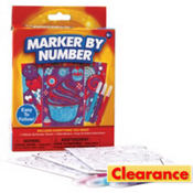 Color by Number Craft Kit