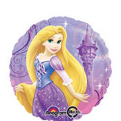 Foil Tangled Rapunzel Balloon 18in