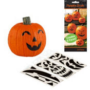 Pumpkin Decals 24ct