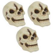 Plastic Skulls 3ct