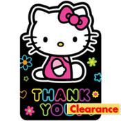 Rainbow Hello Kitty Thank You Notes 8ct