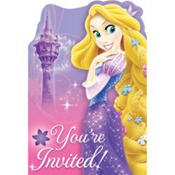 Tangled Invitations 8ct