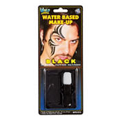 Black Face Makeup and Applicator Kit