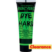 Manic Panic Dye Hard Green Styling Gel 1.6oz