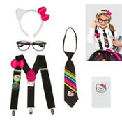 Girls Hello Kitty Nerd Accessory Kit
