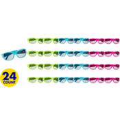 Neon Birthday Glasses 24ct