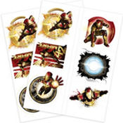 Iron Man Tattoos 12ct
