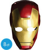 Iron Man Masks 8ct
