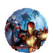 Foil Iron Man 3 Balloon 18in