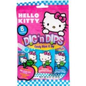 Hello Kitty Candy Sticks & Dips 8ct