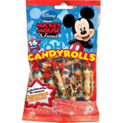 Mickey Mouse Candy Rolls 16ct