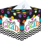 Bright Congrats Graduation Card Holder Box