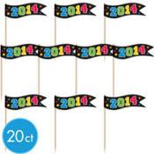 2014 Graduation Cupcake Picks 20ct