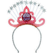 Birthday Queen Tiara Headband